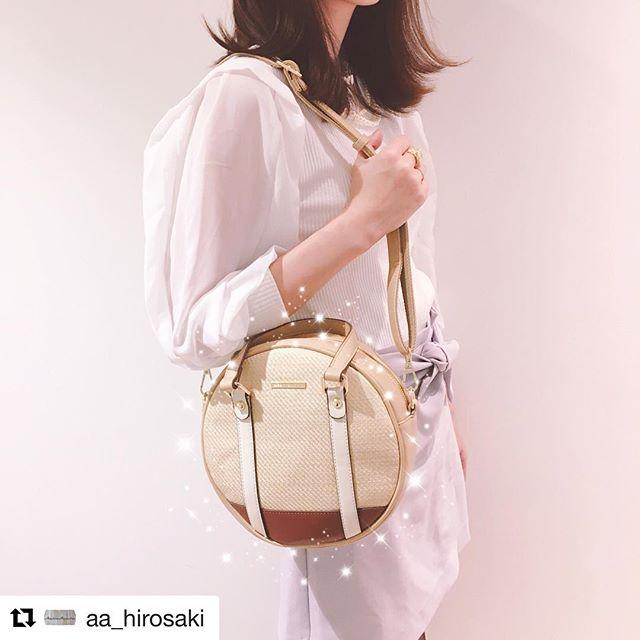#Repost @aa_hirosaki with @get_repost・・・マーキュリーデュオから涼しげな素材感の新作バッグが届きましたまだ少し肌寒い弘前ですが、バッグから春を取り入れてみませんか…?.ショルダー ¥7400+tax.#マーキュリーデュオ#mercuryduo#サックスバー#sacsbar#アマトーネアクセソリーオ #弘前駅#hirosaki#bag#春物新作#大人可愛い#春夏コーデ#カタログ掲載商品