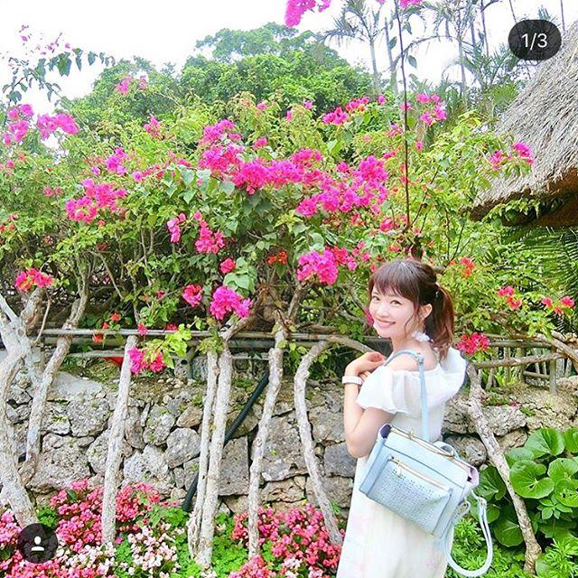 #Repost @mari_asai_625 with @get_repost・・・..沖縄・琉球村.前に撮影で来た場所だから、あーここであんな感じで撮ったなぁとか、サトウキビジュース飲んだなぁとか(笑)当時を思い出して懐かしくなった️..今回の旅行のお供のバッグは、最近ゲットしたMAJESTIC LEGONリュック春らしいフラワーカットのパンチングデザイン×パステルブルーのカラー可愛い国内旅行やディズニーはリュックが楽だからこれから活躍しそう.サックスバー公式通販サイト@sacsbar_com_official_womensプロフィール欄にURL貼っといたから、カバン探してる人は見てみてねーおしゃれバッグいっぱいでオススメ..#sacsbar #サックスバー #ライセンス #サックスバー公式通販サイト #majesticlegonバック #majesticlegon #MAJESTICLEGON #マジェスティックレゴン #プレゼント #リュック #新生活
