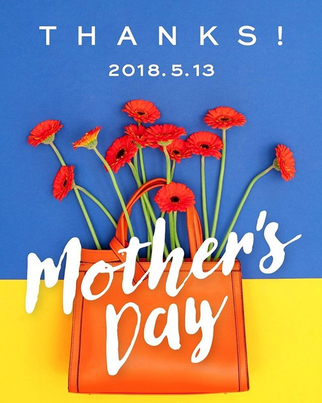 Mother's DAY︎2018 05 13#母の日 #母の日プレゼント #mothersday#sacsbar