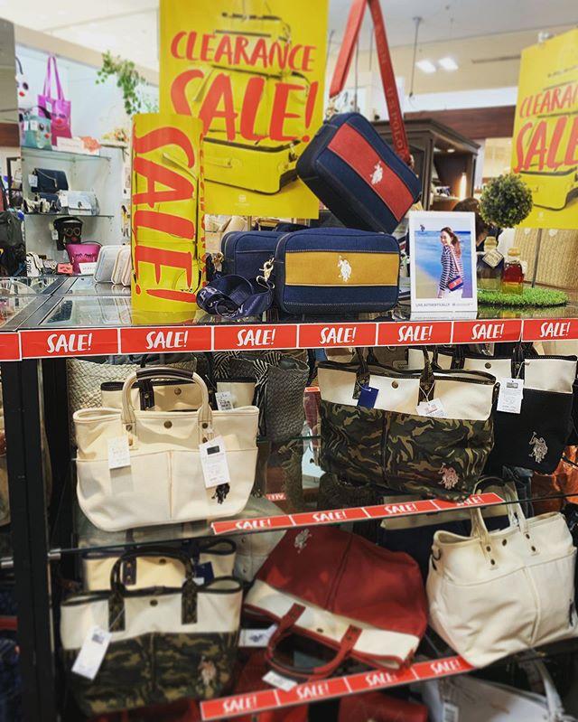 大人気の#USポロ 入荷しましたお買い得になっております(^^)店内商品最大50%オフ️ ご来店お待ち致しております#ラパックス#USポロ#sale#ゆめタウン高松#高松バッグ